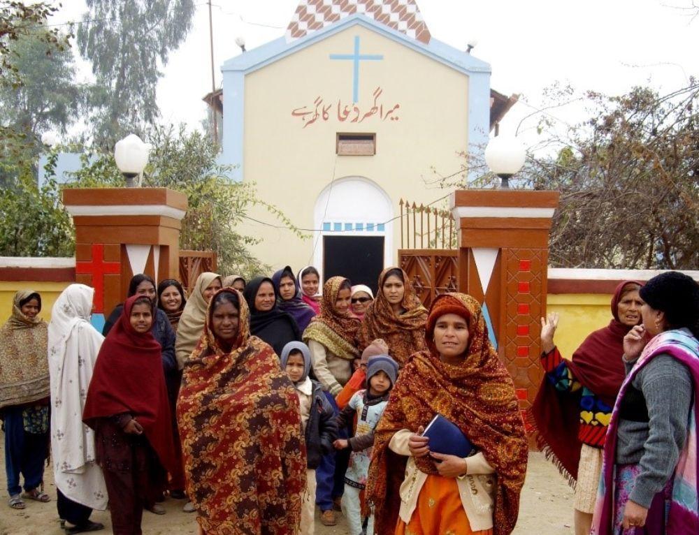 Steun de kerk in Pakistan